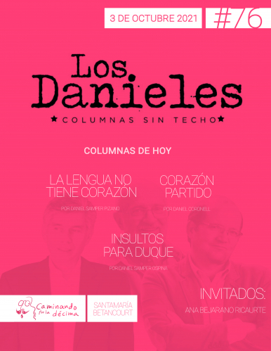 Imagen de apoyo de  Los Danieles  - 03/10/21