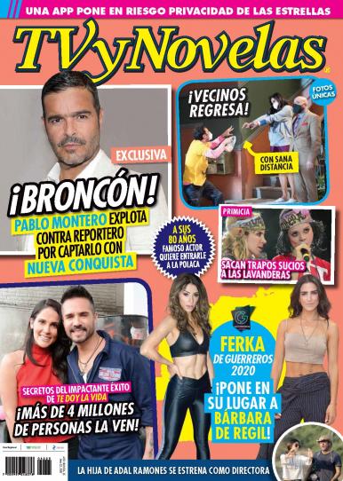 Imagen de apoyo de  TV y Novelas México - 23/06/20