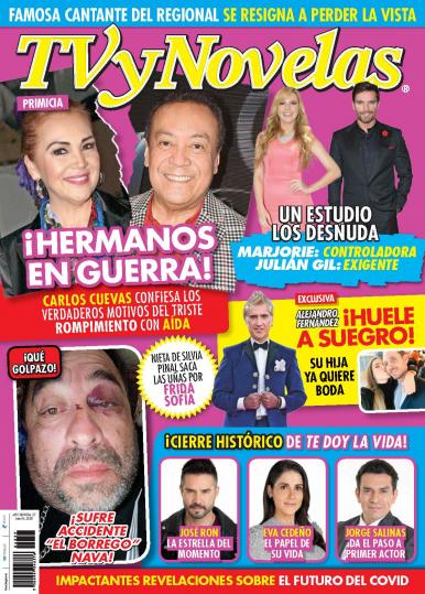 Imagen de apoyo de  TV y Novelas México - 06/07/20