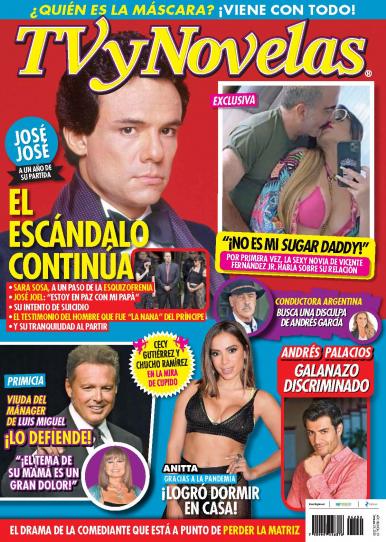 Imagen de apoyo de  TV y Novelas México - 28/09/20