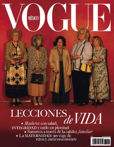 Imagen de apoyo de  Vogue México - 29/04/20