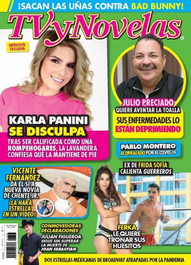 Imagen de apoyo de  TV y Novelas México - 13/07/20