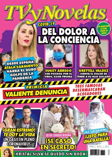 Imagen de apoyo de  TV y Novelas México - 23/03/20