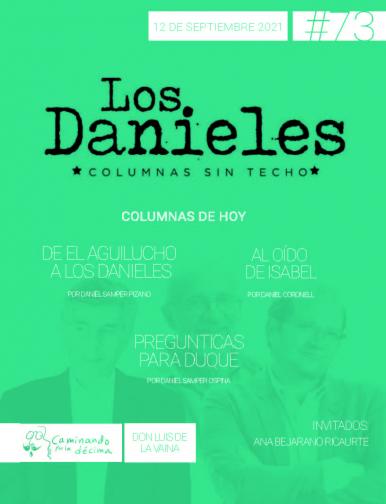 Imagen de apoyo de  Los Danieles  - 12/09/21