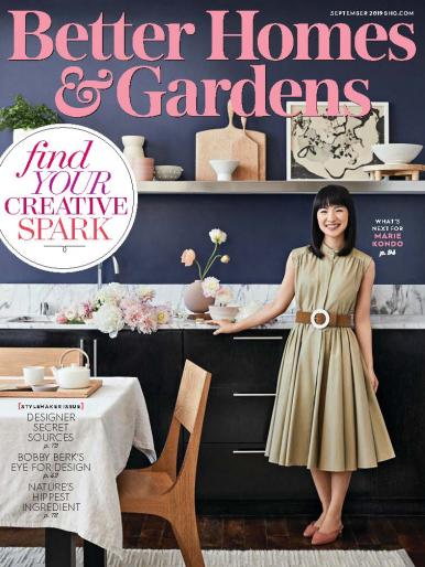 Imagen de apoyo de  Better Home & Gardens - 01/09/19