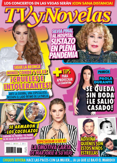 Imagen de apoyo de  TV y Novelas México - 27/04/20