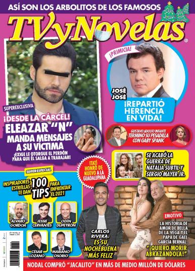 Imagen de apoyo de  TV y Novelas México - 14/12/20