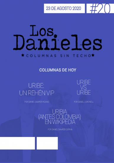 Imagen de apoyo de  Los Danieles  - 23/08/20