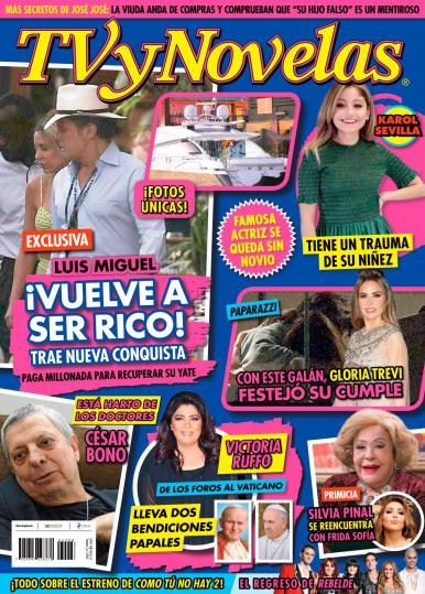 Imagen de apoyo de  TV y Novelas México - 24/02/20