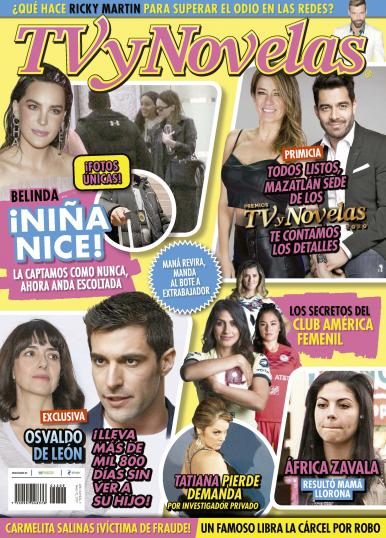Imagen de apoyo de  TV y Novelas México - 02/03/20