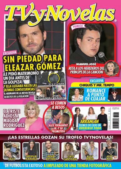 Imagen de apoyo de  TV y Novelas México - 09/11/20