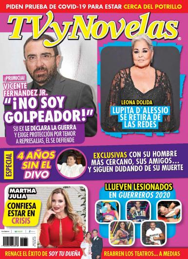 Imagen de apoyo de  TV y Novelas México - 24/08/20