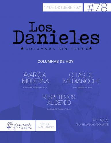 Imagen de apoyo de  Los Danieles  - 17/10/21