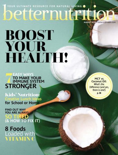 Imagen de apoyo de  Better Nutrition - 01/08/20