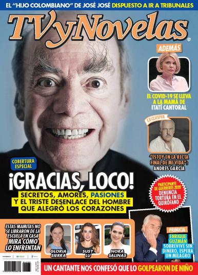 Imagen de apoyo de  TV y Novelas México - 31/08/20