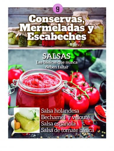 Imagen de apoyo de  Conservas, Mermeladas y Escabeches - 15/10/21