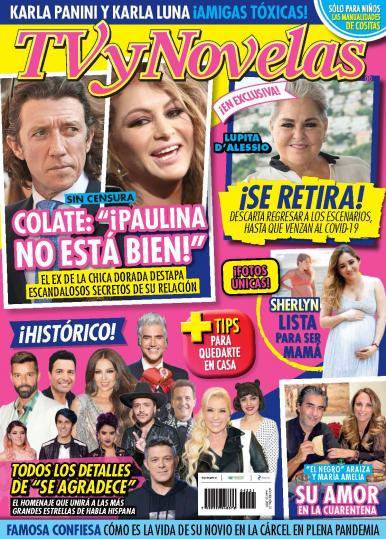Imagen de apoyo de  TV y Novelas México - 25/05/20