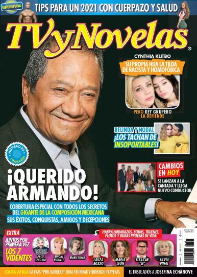 Imagen de apoyo de  TV y Novelas México - 04/01/21