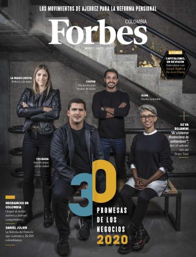 Imagen de apoyo de  Forbes Colombia - 09/03/20