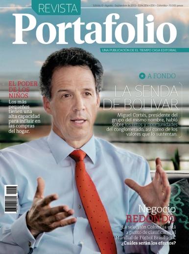 Imagen de apoyo de  Portafolio revista - 19/08/13