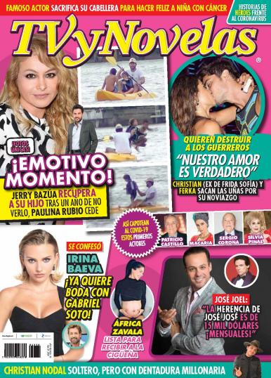 Imagen de apoyo de  TV y Novelas México - 27/07/20