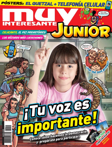 Imagen de apoyo de  Muy Interesante Junior - 03/03/20